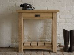 #indigocollections #pintowin #competition Riven Oak Telephone Table