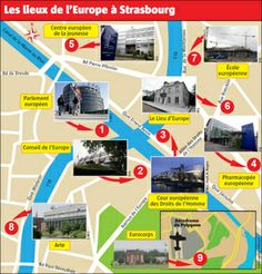 À Strasbourg, il n'y a pas que le Parlement européen…