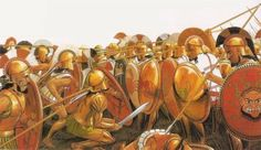 Athenian Hoplite Phalanx