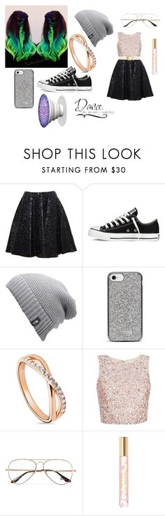 """""""Dance"""" by bethecaptain on Polyvore featuring Giambattista Valli, Converse, The North Face, Nanette Lepore, BERRICLE, Ray-Ban, WALL, Tory Burch and Gucci"""