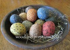 Primitive Spring Eggs $4.00
