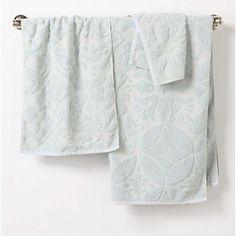 Anthropologie towels