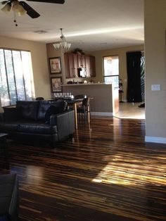 Tiger Strand Bamboo was featured in DIY Network Blog Cabin 2014! We love it in this customer's living room. http://www.lumberliquidators.com/ll/c/Copperstripe-Bamboo-Morning-Star-Click-PRQCBAMXT/10036060