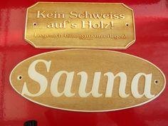 Sauna Hinweisschild »Sauna«  Saunaschild,lasergravur  2 Schilder für ein preis!!