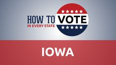 How to vote in Iowa! Everything you need to know from registering and voter ID…