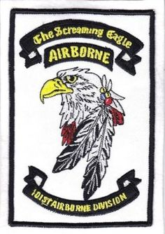 US Army Parachutist 101st Airborne Infantry Division