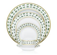 La Bocca (Green) by Royal Limoges