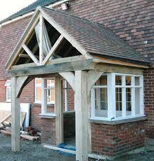 Brisk selected entrance porch design you can try here Front Porch Addition, Front Porch Design, Front Porches, House With Porch, House Front, Simple Porch Designs, Timber Frame Garage, Sas Entree, Porch Extension