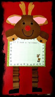 Just Wild About Teaching: My Latest Holiday Craftivity just in time for Christmas with your little ones.