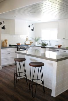 When it comes to backsplashes, white subway tile seems to stand the test of time. It's versatile enough to work with virtually every coun...