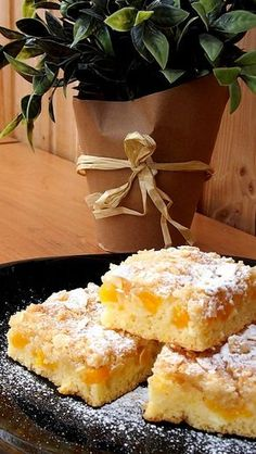 Slovak Recipes, Czech Recipes, Bread And Pastries, Sweet Cakes, Kefir, Desert Recipes, No Bake Cake, Baking Recipes, Sweet Tooth