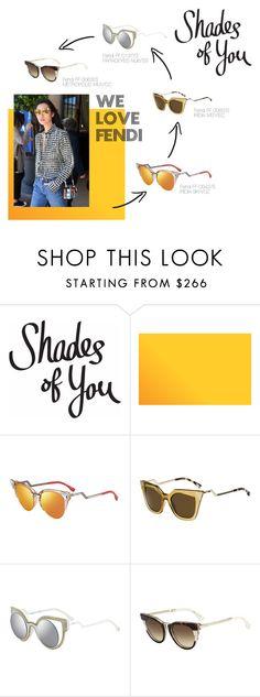 Shades of You: Sunglass Hut Contest Entry by smartbuyglasses-uk on Polyvore featuring Fendi, Sonam Life, fendi and shadesofyou. Find the fendi sunglasses at http://www.smartbuyglasses.com/designer-sunglasses/Fendi/Fendi-FF-0042/S-IRIDIA-9KH/UZ-305662.html