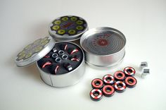 "FVTVRA Swiss Bearings No Abec ""8 BULETS SWISS ROULETTE"" 8 premium quality swiss made skateboard bearings. #fvtvra #skateboard #graphic #design"