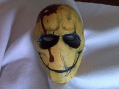 Army of Two Watchmen mask by on DeviantArt Creepy Masks, Cool Masks, Elmo, Film Zombie, Scarecrow Mask, Samurai, Army Of Two, Airsoft Mask, Blue Topaz Necklace