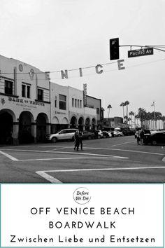 Der Venice Beach Boardwalk ist die Inkarnation des California Lifestyle. Doch das wahre Venice liegt irgendwo dahinter.