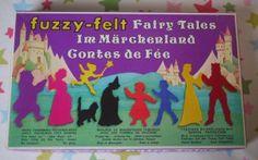 vintage fuzzy felt- I had this when I was a kid!