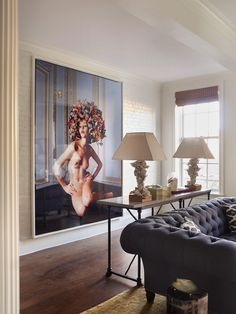 Guehne-Made - Kansas City | Home Remodeling | Home Styling | Custom Woodworks | Custom Furniture: Downtown NYC Bachelor Apartment by Sara Co...