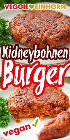 Vegan Dinner Recipes, Vegan Dinners, Easy Healthy Recipes, Healthy Cooking, Vegetarian Recipes, Vegan Patties, Vegetarian Burger Patties, Vegan Foods, Aesthetic Food