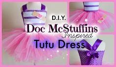 DIY Doc McStuffins Costume Tutu Dress