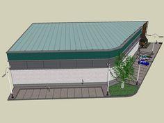 Modelos Construtivos de Ginásios de Esportes | Ideias Construção Civil