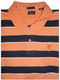 Men's Izod Polo Shirt Short Sleeve Orange Bud Size XXL