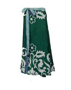 Vintage silk skirt