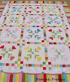 Come on in and join me in a rug cuttin happy dance!  It's so exciting to finally have this finished.  The idea for the quilt started well o...