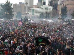4/20 Denver marijuana holiday rally