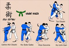 Baixar - Técnicas de judô e jiu jitsu — Ilustração de Stock #9981970