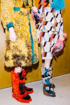 Our Best Backstage Photos From Milan Fashion Week's Fall 2017 Shows High Fashion, Winter Fashion, Warm Boots, Milan Fashion Weeks, Aw17, Suits You, Backstage, Designer, Harajuku