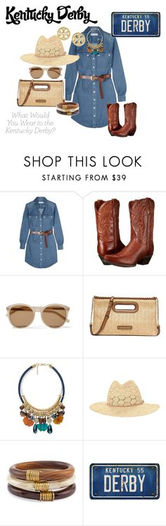 """KENTUCKY DERBY LOOKS 2016!"" by beautinsuccess on Polyvore featuring MICHAEL Michael Kors, Dan Post, Yves Saint Laurent, MANGO, rag & bone, Chico's and Tory Burch"