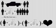 Do The Math http://goodhal.blogspot.com/2013/10/tgif-048.html #Humor #Motorcycle