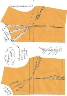 Best 12 Dress pattern diy vestidos 56 ideas for 2019 Dress Sewing Patterns, Blouse Patterns, Sewing Patterns Free, Sewing Tutorials, Clothing Patterns, Skirt Patterns, Dress Tutorials, Coat Patterns, Fashion Sewing