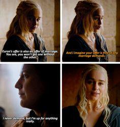 Game of Thrones - Daenerys Targaryen & Yara Greyjoy