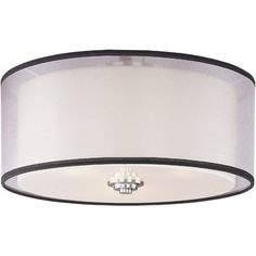 Perfect above the foyer or dining table, this flush mount casts a warm glow over any space.