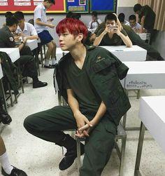 Never Love Again Never Love Again, Baby Park, Student Jobs, Daniel K, Kim Jaehwan, Ha Sungwoon, Men In Uniform, K Idol, Ulzzang Boy