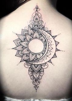 sun & moon mandala tattoo © tattoo studio Divine Ink Tattoos and Gallery 💖.sun & moon mandala tattoo © tattoo studio Divine Ink Tattoos and Gallery 💖☀️🌙 💖 ☀️🌙 💖 Moon Sun Tattoo, Sun Tattoos, Bild Tattoos, Trendy Tattoos, Body Art Tattoos, Sleeve Tattoos, Tattoos For Guys, Feminine Tattoos, Mandala Tattoo Design