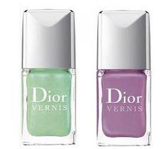 Dior Garden Party SS 2012 #candynails