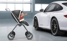 The Porsche Design P'4911 Baby Stroller by Swedish designer Dawid Dawod not only looks right, it also folds compact enough to fit into the trunk of any Porsche. This unique baby stroller was created by Dawid Dawod in cooperation with Porsche Design Studio in Zell am Zee, Austria during his exchange semester at FH-Joanneum in Graz, Austria. The project was not only a study in high-end materials and luxury products, it also required deep insight in what Porsche Design stands for as a brand…