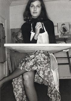 Sandra Fisher by Lee Friedlander, London 1975.