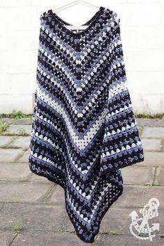 Crochet Poncho Free Pattern Adult Size