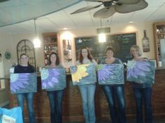 Painting Class April 5th At Fireside Winery