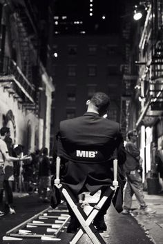 Will Smith on the set ofMen in Black 3 (2012),