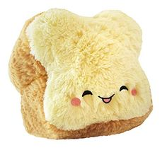 Squishable / Mini Comfort Food Food Loaf of Bread Plush – 7 squishy inches of the yeast you can do! All new polyester fiber. Ages 3 and u. Food Pillows, Cute Pillows, Diy Pillows, Food Plushies, Bff, Kawaii Room, Cute Stuffed Animals, Cute Plush, Cute Toys