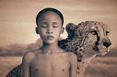Top 15 des photos de communion entre l'Homme et l'animal selon Gregory Colbert