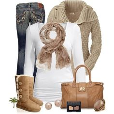 Winter Outfits | Natural Colors
