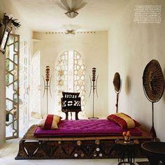 Arabic Bedroom Design : interior design the doors moroccan bedroom elle decor bedroom design ...