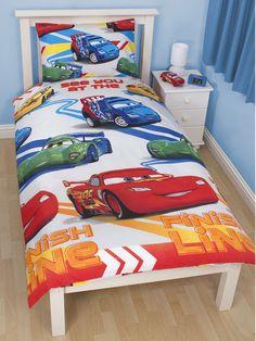 Disney Cars Speed Single Rotary Duvet and Pillowcase Set  Disney  Brand new design Duvet cover size approx 135cm x 200cm