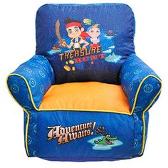 Disney Jake and the Pirates Toddler Bean Bag Chair