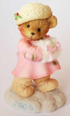 Heidi´s Cherished Teddies Galerie: EDIE - Warm N Wonderful Winter Greetings (4005469)